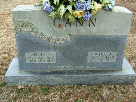 GANN, ANNIE J - Sebastian County, Arkansas   ANNIE J GANN - Arkansas Gravestone Photos