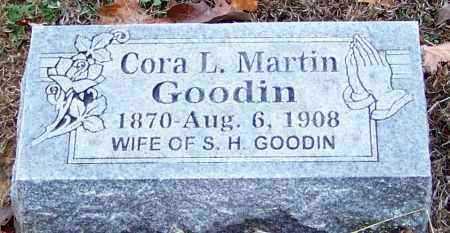 GOODIN, CORA L - Sebastian County, Arkansas   CORA L GOODIN - Arkansas Gravestone Photos
