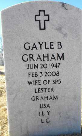 GRAHAM, GAYLE B - Sebastian County, Arkansas | GAYLE B GRAHAM - Arkansas Gravestone Photos