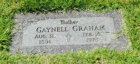 GRAHAM, GAYNELL - Sebastian County, Arkansas | GAYNELL GRAHAM - Arkansas Gravestone Photos