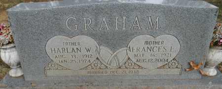 GRAHAM, FRANCES E - Sebastian County, Arkansas   FRANCES E GRAHAM - Arkansas Gravestone Photos
