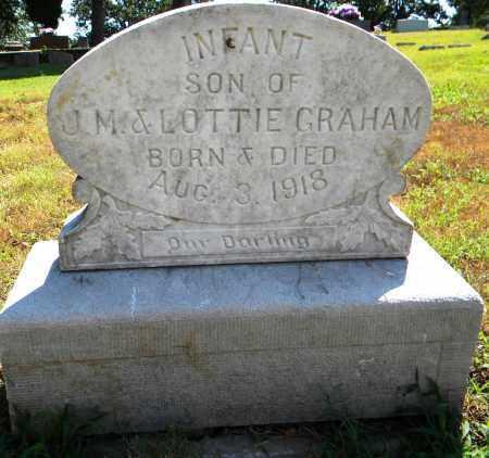 GRAHAM, INFANT SON - Sebastian County, Arkansas   INFANT SON GRAHAM - Arkansas Gravestone Photos