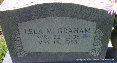 GRAHAM, LELA M - Sebastian County, Arkansas | LELA M GRAHAM - Arkansas Gravestone Photos
