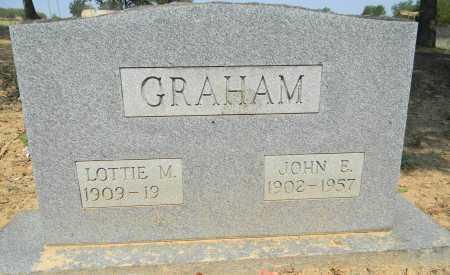 GRAHAM, LOTTIE M - Sebastian County, Arkansas | LOTTIE M GRAHAM - Arkansas Gravestone Photos