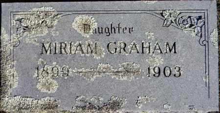 GRAHAM, MIRIAM - Sebastian County, Arkansas | MIRIAM GRAHAM - Arkansas Gravestone Photos