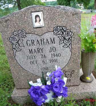 GRAHAM, MARY JO - Sebastian County, Arkansas | MARY JO GRAHAM - Arkansas Gravestone Photos