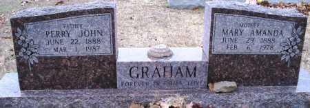 GRAHAM, PERRY JOHN - Sebastian County, Arkansas | PERRY JOHN GRAHAM - Arkansas Gravestone Photos