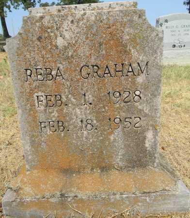 GRAHAM, REBA - Sebastian County, Arkansas   REBA GRAHAM - Arkansas Gravestone Photos