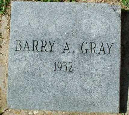 GRAY, BARRY A - Sebastian County, Arkansas   BARRY A GRAY - Arkansas Gravestone Photos