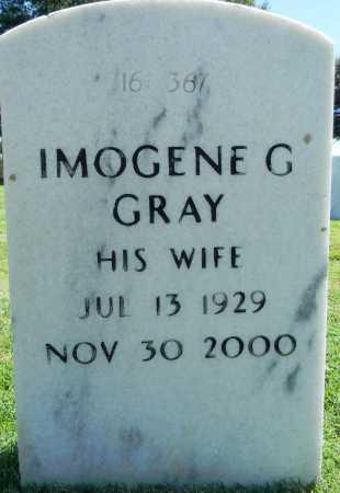 GRAY, IMOGENE G - Sebastian County, Arkansas | IMOGENE G GRAY - Arkansas Gravestone Photos