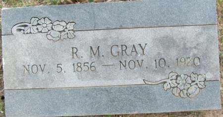 GRAY, R.M. - Sebastian County, Arkansas   R.M. GRAY - Arkansas Gravestone Photos