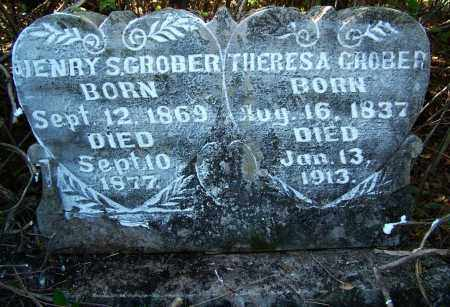 GROBER, THERESA - Sebastian County, Arkansas | THERESA GROBER - Arkansas Gravestone Photos
