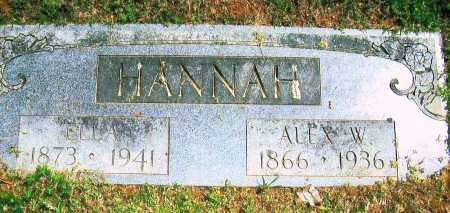 HANNAH, ELLA - Sebastian County, Arkansas | ELLA HANNAH - Arkansas Gravestone Photos