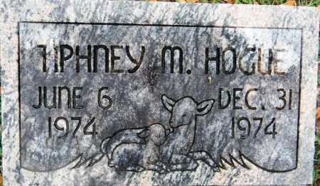 HOGUE, TIPHNEY M - Sebastian County, Arkansas   TIPHNEY M HOGUE - Arkansas Gravestone Photos