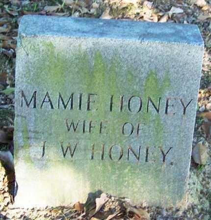 HONEY, MAMIE - Sebastian County, Arkansas | MAMIE HONEY - Arkansas Gravestone Photos