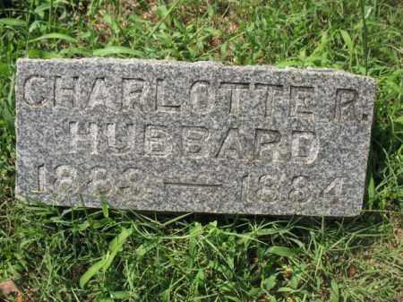 HUBBARD, CHARLOTTE R - Sebastian County, Arkansas | CHARLOTTE R HUBBARD - Arkansas Gravestone Photos