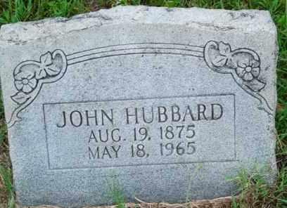 HUBBARD, JOHN - Sebastian County, Arkansas | JOHN HUBBARD - Arkansas Gravestone Photos