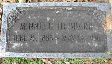 HUBBARD, MINNIE C - Sebastian County, Arkansas | MINNIE C HUBBARD - Arkansas Gravestone Photos