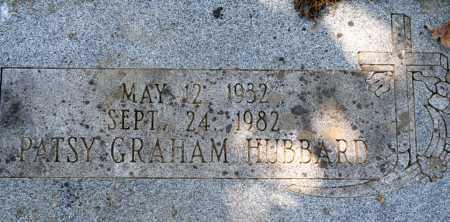 GRAHAM HUBBARD, PATSY - Sebastian County, Arkansas | PATSY GRAHAM HUBBARD - Arkansas Gravestone Photos