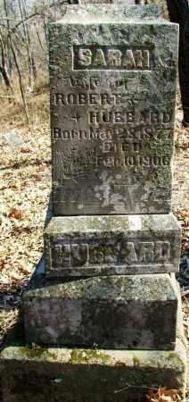 HUBBARD, SARAH - Sebastian County, Arkansas | SARAH HUBBARD - Arkansas Gravestone Photos