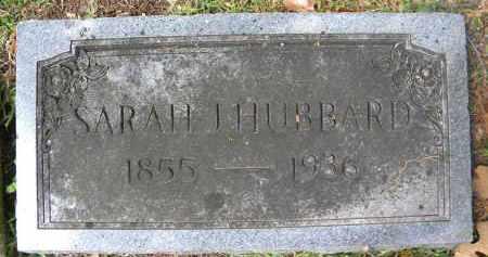 HUBBARD, SARAH J - Sebastian County, Arkansas | SARAH J HUBBARD - Arkansas Gravestone Photos