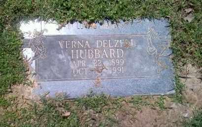 HUBBARD, VERNA DELZENE - Sebastian County, Arkansas   VERNA DELZENE HUBBARD - Arkansas Gravestone Photos