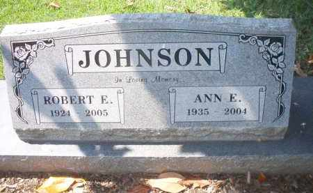JOHNSON, ANN E - Sebastian County, Arkansas | ANN E JOHNSON - Arkansas Gravestone Photos