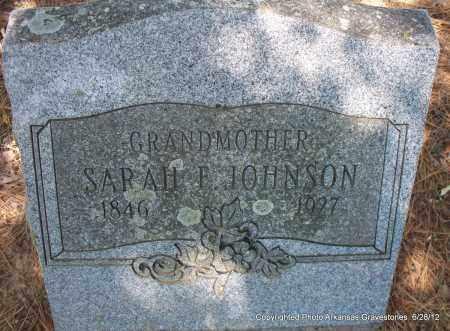 JOHNSON, SARAH F - Sebastian County, Arkansas | SARAH F JOHNSON - Arkansas Gravestone Photos