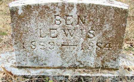 LEWIS, BEN - Sebastian County, Arkansas   BEN LEWIS - Arkansas Gravestone Photos