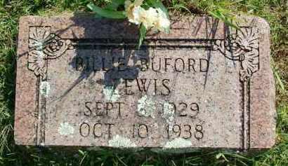 LEWIS, BILLIE BUFORD - Sebastian County, Arkansas   BILLIE BUFORD LEWIS - Arkansas Gravestone Photos
