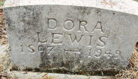 LEWIS, DORA - Sebastian County, Arkansas   DORA LEWIS - Arkansas Gravestone Photos