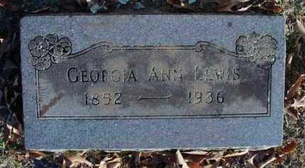 LEWIS, GEORGIA ANN - Sebastian County, Arkansas | GEORGIA ANN LEWIS - Arkansas Gravestone Photos