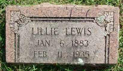 LEWIS, LILLIE - Sebastian County, Arkansas | LILLIE LEWIS - Arkansas Gravestone Photos