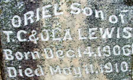 LEWIS, ORIEL - Sebastian County, Arkansas | ORIEL LEWIS - Arkansas Gravestone Photos