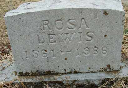 LEWIS, ROSA - Sebastian County, Arkansas   ROSA LEWIS - Arkansas Gravestone Photos