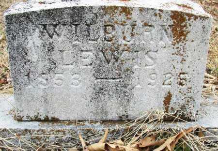 LEWIS, WILBURN - Sebastian County, Arkansas | WILBURN LEWIS - Arkansas Gravestone Photos