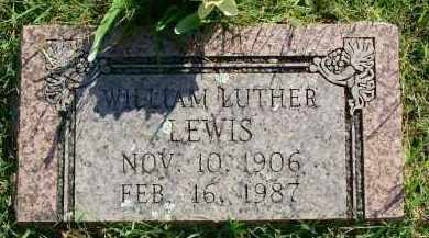LEWIS, WILLIAM LUTHER - Sebastian County, Arkansas | WILLIAM LUTHER LEWIS - Arkansas Gravestone Photos
