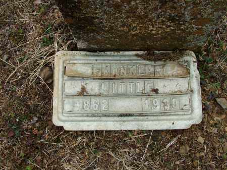LITTLE, FRANKLIN - Sebastian County, Arkansas | FRANKLIN LITTLE - Arkansas Gravestone Photos