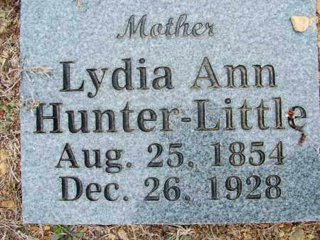 HUNTER LITTLE, LYDIA ANN - Sebastian County, Arkansas | LYDIA ANN HUNTER LITTLE - Arkansas Gravestone Photos