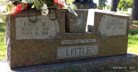 LITTLE, PAUL M - Sebastian County, Arkansas | PAUL M LITTLE - Arkansas Gravestone Photos