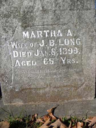 LONG, MARTHA - Sebastian County, Arkansas | MARTHA LONG - Arkansas Gravestone Photos