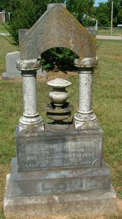 LOW, W.L.(FULL VIEW) - Sebastian County, Arkansas | W.L.(FULL VIEW) LOW - Arkansas Gravestone Photos