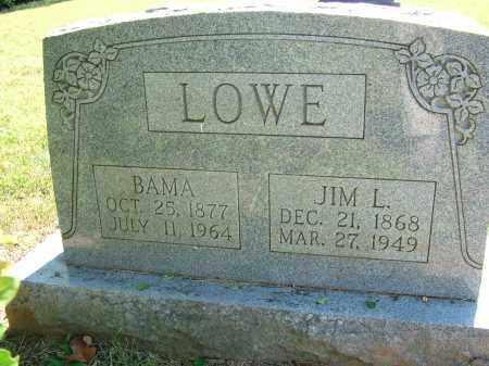 LOWE, BAMA - Sebastian County, Arkansas | BAMA LOWE - Arkansas Gravestone Photos