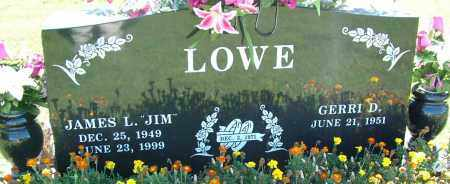 "LOWE, JAMES L. ""JIM"" - Sebastian County, Arkansas | JAMES L. ""JIM"" LOWE - Arkansas Gravestone Photos"