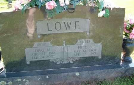 LOWE, FRED B. - Sebastian County, Arkansas | FRED B. LOWE - Arkansas Gravestone Photos