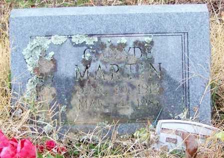 MARTIN, CLAYTON CLYDE - Sebastian County, Arkansas | CLAYTON CLYDE MARTIN - Arkansas Gravestone Photos