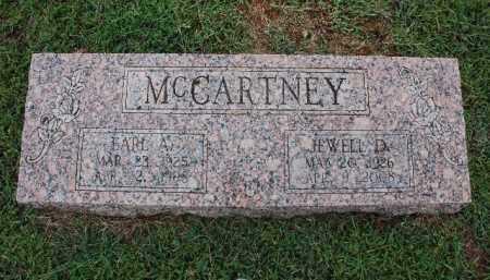 MCCARTNEY, JEWELL D - Sebastian County, Arkansas | JEWELL D MCCARTNEY - Arkansas Gravestone Photos