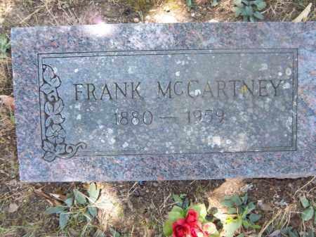 MCCARTNEY, FRANK - Sebastian County, Arkansas | FRANK MCCARTNEY - Arkansas Gravestone Photos