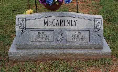 MCCARTNEY, GLEN - Sebastian County, Arkansas   GLEN MCCARTNEY - Arkansas Gravestone Photos