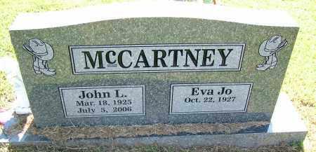 MCCARTNEY, JOHN L. - Sebastian County, Arkansas   JOHN L. MCCARTNEY - Arkansas Gravestone Photos